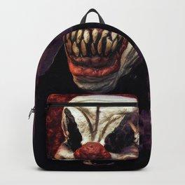 Scary Clown Purple Smoke Backpack