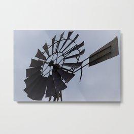 wind-mill Metal Print