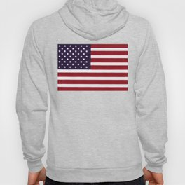 "Stars & Stripes flag, painterly ""old glory"" Hoody"