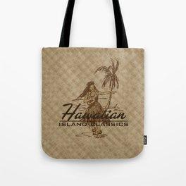 Tradewinds Hawaiian Island Hula Girl Tote Bag