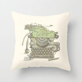 A Certain Type of City Throw Pillow