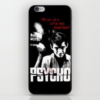 psycho iPhone & iPod Skins featuring Psycho by PsychoBudgie