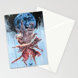 Felinoid Fall Stationery Cards