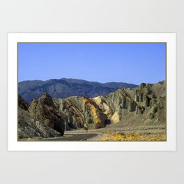 Slow Curve at the Green Mountains. UTAH JD Barrett Photography Art Print