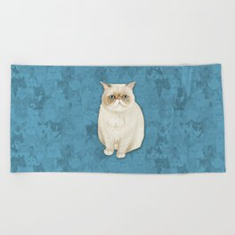 puddle Beach Towel
