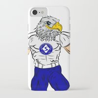 arnold iPhone & iPod Cases featuring Arnold by szydlowiec24