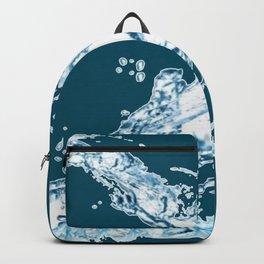 Splashing Water Backpack