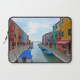 Lace Island - end of the street Laptop Sleeve
