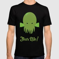 FEAR ME! MEDIUM Mens Fitted Tee Black