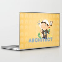 architect Laptop & iPad Skins featuring Architect by Alapapaju