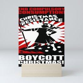 Christmas Resistance  Mini Art Print
