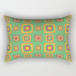 Vintage 60s geometry pattern 19 Rectangular Pillow