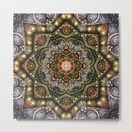 Mandalas from the Voice of Eternity 8 Metal Print