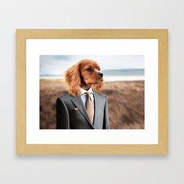 Young Dog Framed Art Print