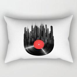 Urban Vinyl Rectangular Pillow