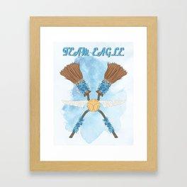 Team Eagle Framed Art Print