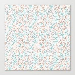 A Stringy Mess Canvas Print