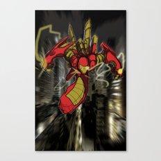 iRon Canvas Print