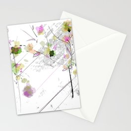 drizzle spring Stationery Cards
