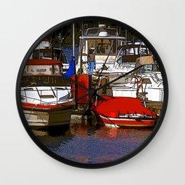 SE Seattle Marina Wall Clock