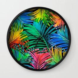 My Tropical Garden 15 Wall Clock