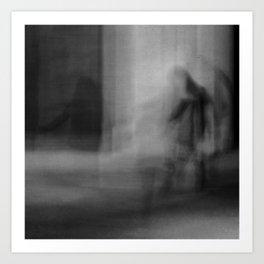 Shadows in the Moonlight Art Print