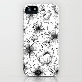 Floral Wallpaper: 1 iPhone Case