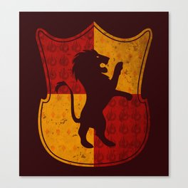 Gryffindor House Canvas Print