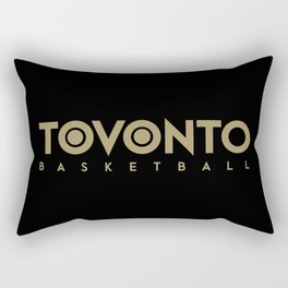Toronto Basketball Rectangular Pillow
