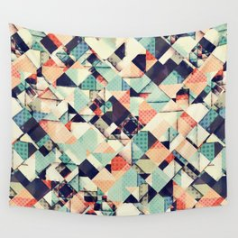 Jumble of Colors And Texture Wall Tapestry