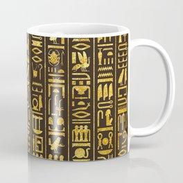 Gilded Hieroglyphs Coffee Mug
