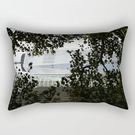 Seeing WTC1 through the Trees Rectangular Pillow