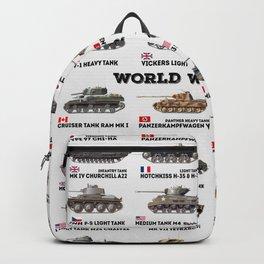 World War II Tanks Backpack