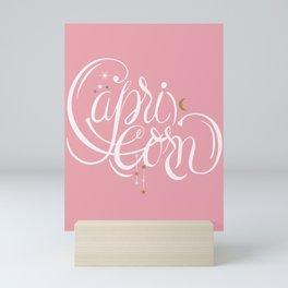 Capricorn Zodiac Sign artwork  Mini Art Print