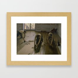 Gustave Caillebotte - The Floor Planers Framed Art Print