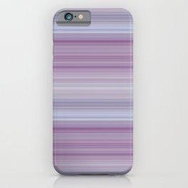 Lavendar Lines iPhone Case