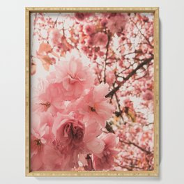 cherry blossoms Serving Tray