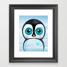 Joc the Penguin Framed Art Print