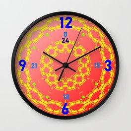 Clock-face-pattern Wall Clock