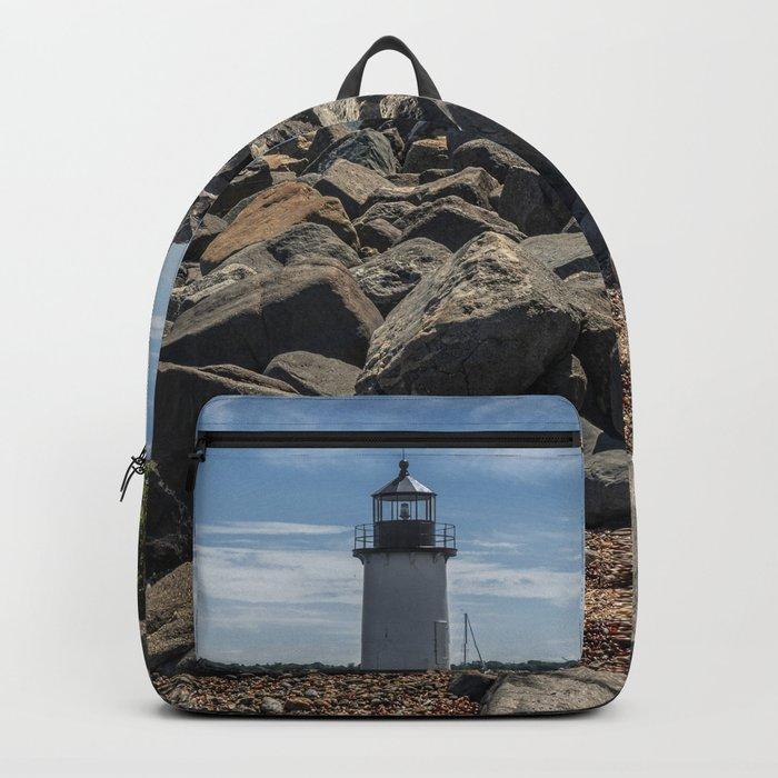 Winter Island Lighthouse Backpack