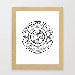Gallifrey Prepatory Academy Framed Art Print