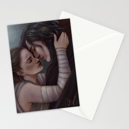 Whatever our souls are made of, his and mine are the same Stationery Cards