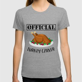 Thanksgiving Day Turkey Gift for Fall Holiday Light T-shirt