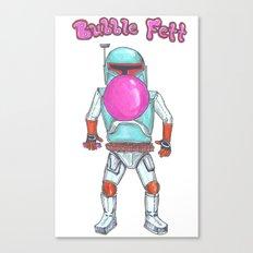 Bubble Fett Canvas Print