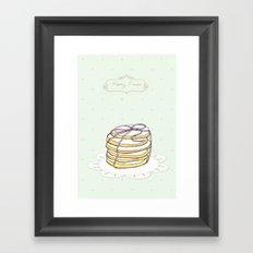 x-mas cookies Framed Art Print