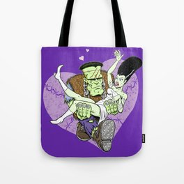 Frank N Bride Tote Bag