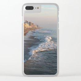 Golden Hour in Virginia Beach Clear iPhone Case