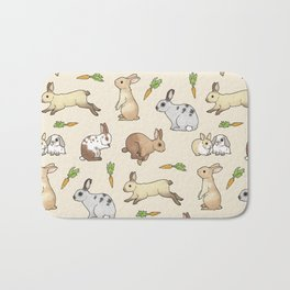 Rabbits Bath Mat
