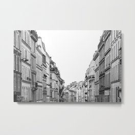 Street in Paris Metal Print