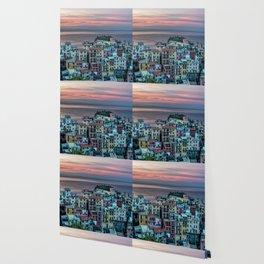 Cinque Terre at dawn Wallpaper